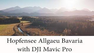 Hopfensee Allgaeu Bavaria filmed with DJI Mavic Pro