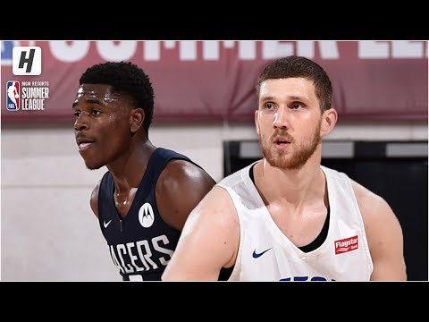Indiana Pacers vs Detroit Pistons – Full Game Highlights | July 8, 2019 NBA Summer League