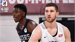 Indiana Pacers vs Detroit Pistons - Full Game Highlights | July 8, 2019 NBA Summer League