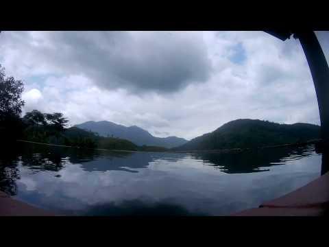 Time lapse with mountain view , Sri Lanka
