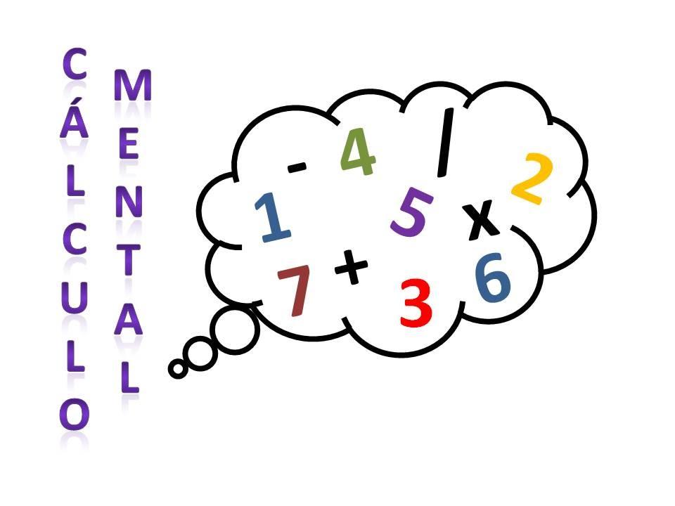 Resultado de imagen de Cálculo mental