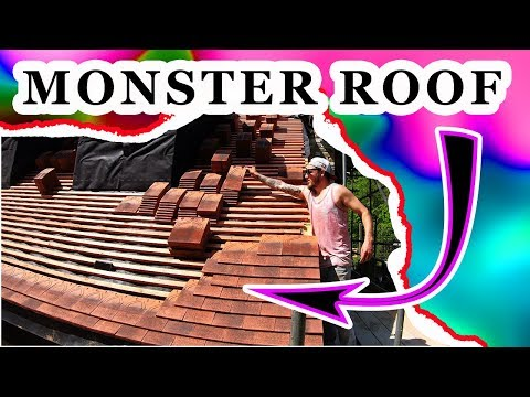 1 GUY TILES MONSTER ROOF ALONE [DAY 1]