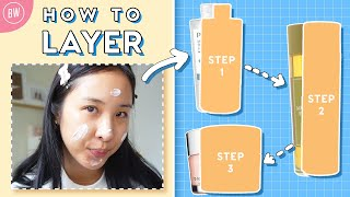 4 Daily Tips for Layering Products: Oily & Acne-Prone Skin | Beauty Within