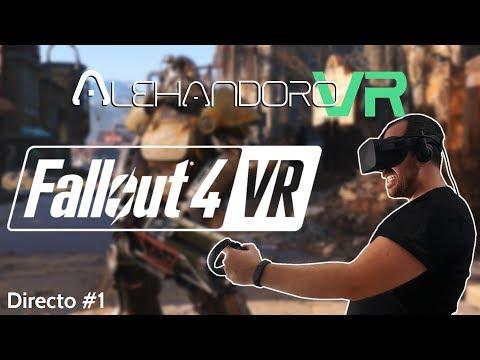 FALLOUT 4 VR EN OCULUS RIFT  | DIRECTO #1 - Realidad Virtual en Español