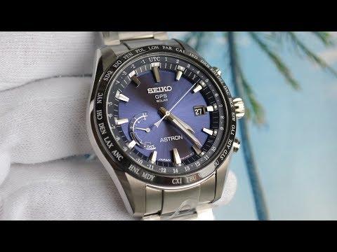 best authentic 87c85 26472 Обзор Seiko Astron SBXB109 8X22 GPS Solar - YouTube