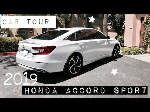 BRAND NEW CAR TOUR • 2019 Honda Accord Sport