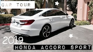 BRAND NEW CAR TOUR • 2019 Honda Accord Sport
