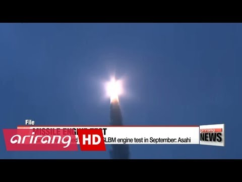 North Korea carried out failed SLBM engine test in September: Asahi Shimbun