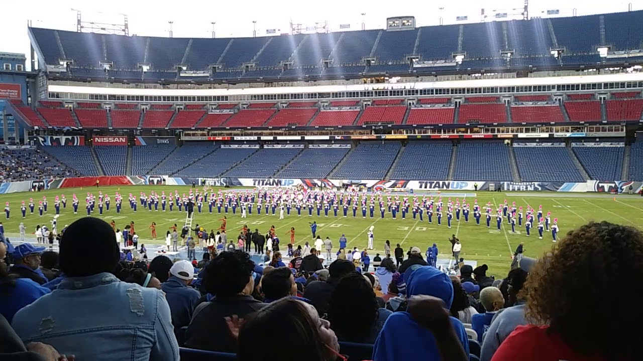 Which HBCU band did the most at homecoming?