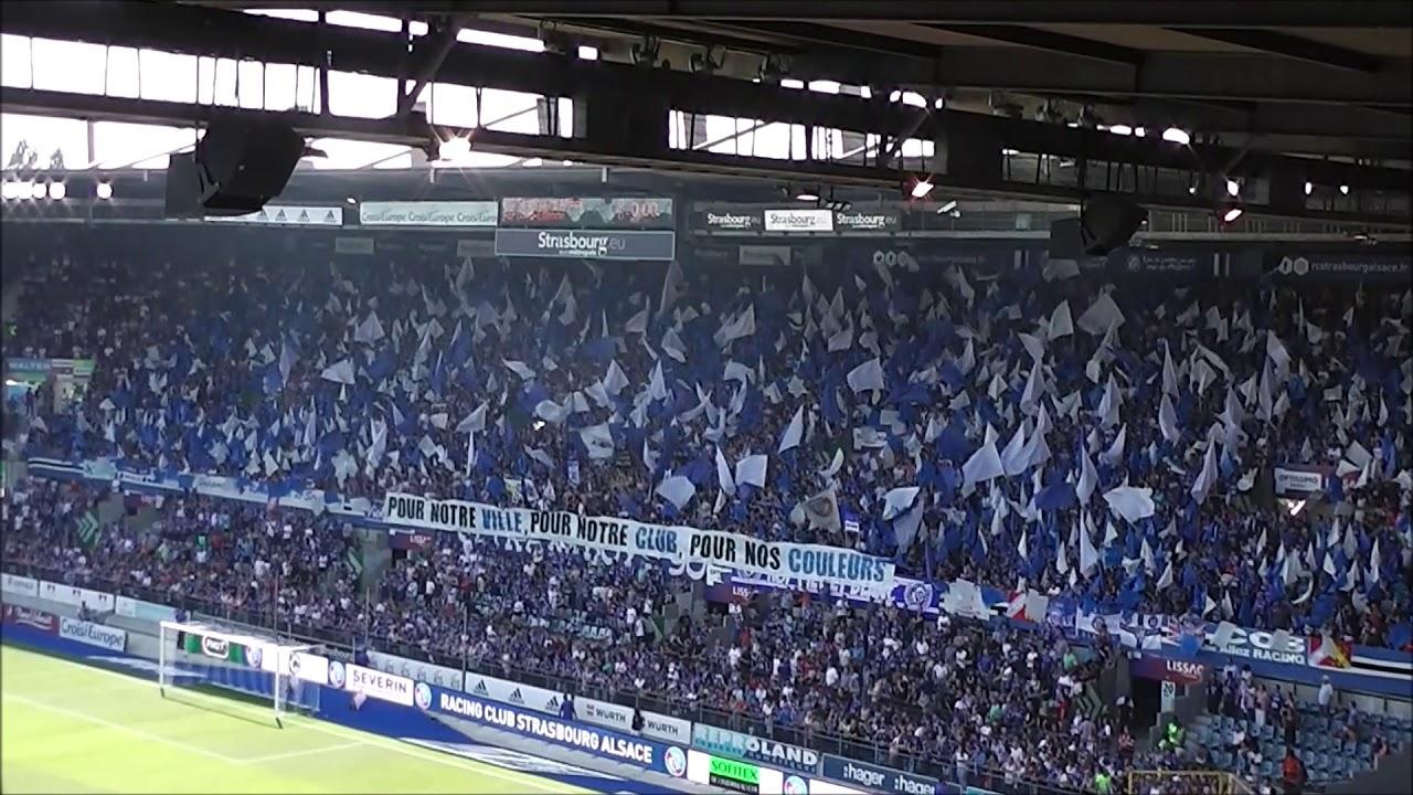00d9b0b8a18 Rc Strasbourg vs As St-Etienne  ULTRA BOYS 90 TIFO - YouTube