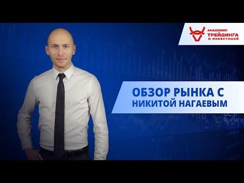 Обзор рынка от Академии Трейдинга и Инвестиций с Нагаевым Никитой 04.06.2019