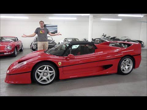 Ferrari F50 - это культовый суперкар за $3 миллиона
