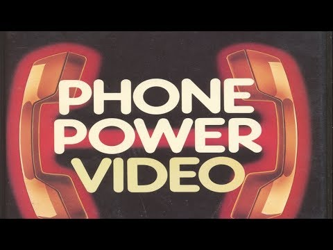The Phone Power Video [I've got.... Boneitis!] [1988] [VHS]
