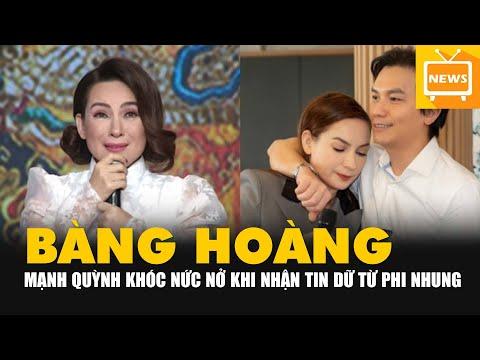 Mạnh Quỳnh rơi nước mắt cầu nguyện khi nhận tin dữ về Phi Nhung, nhắn nhủ 1 câu khiến CĐM nghẹn ngào