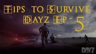 DayZ Standalone TIPS ! How to use a Map, Looting Cars, and First aid kit. Dayz Alpha Tips Ep5