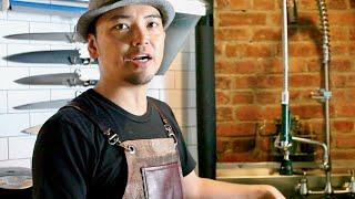 ラーメンゴッド・中村栄利、スープ作りは寸胴が重要ポイント/映画『RAMEN FEVER』特別映像