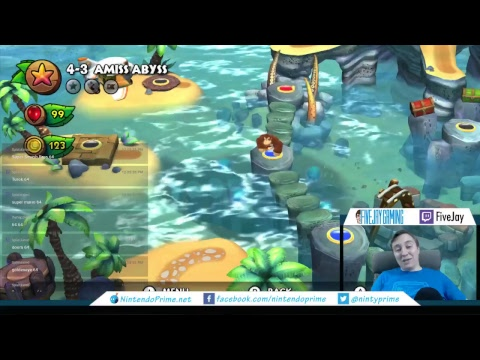 Donkey Kong Country: Tropical Freeze - FiveJay Saturday - Ni