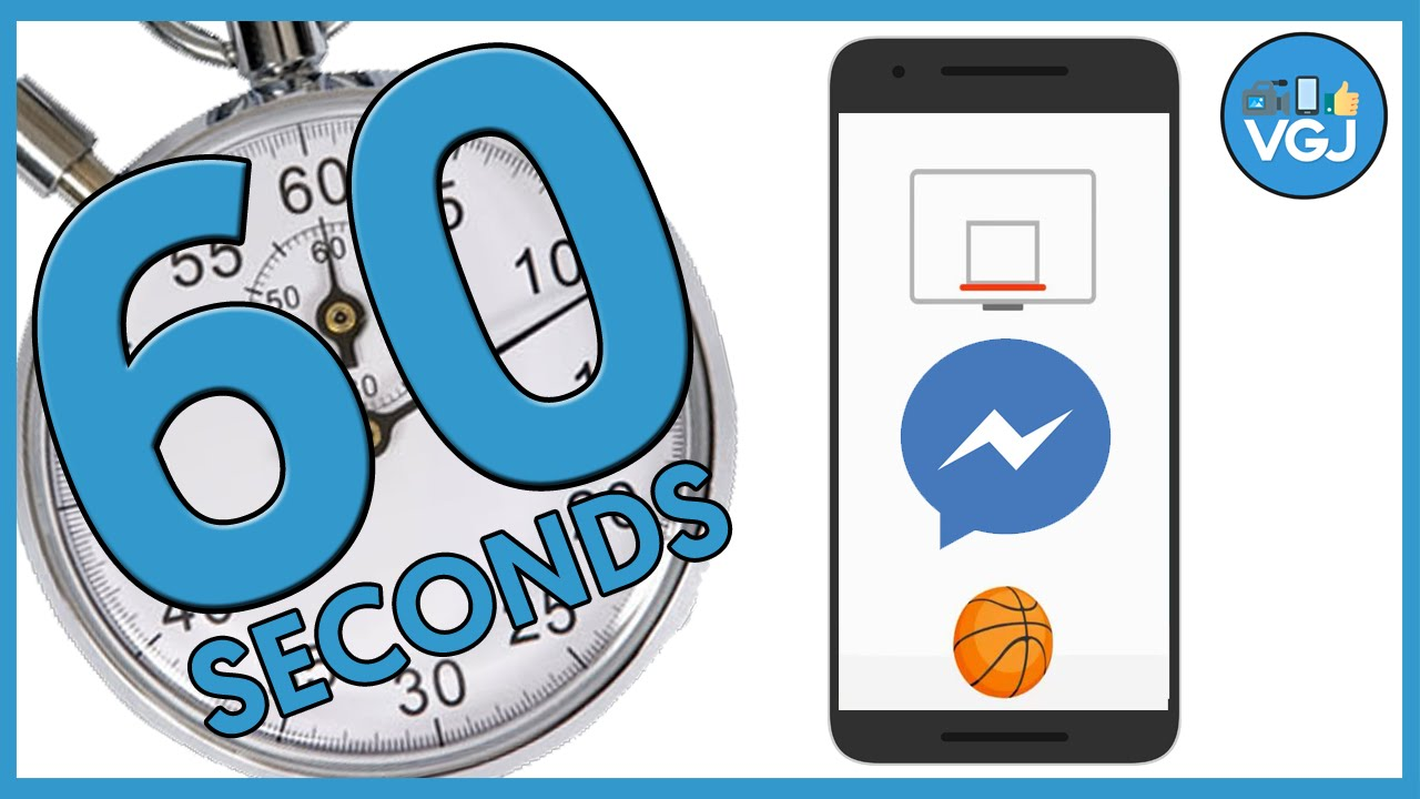 How to Unlock (and cheat) the Facebook Messenger Basketball Game in 60  Seconds