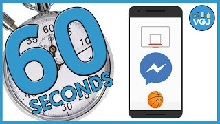 How To Unlock  And Cheat  The Facebook Messenger Basketball Game In 60 Seconds