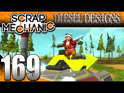 Scrap Mechanic Gameplay :E169: Hover Board, New Blocks, Jet Pack, Crazy Builds! (HD Creations)