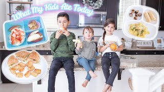 What My 3 Kids Eat In A Day! TODDLER & KIDS MEAL IDEAS