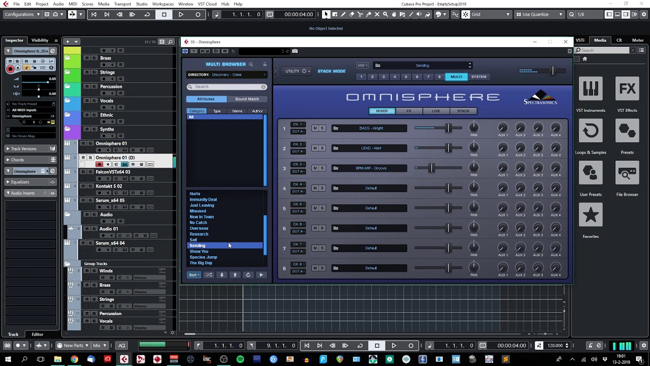 Discovery - Crime Deluxe - Omnisphere 2 + Keyscape soundset