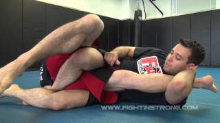 KNEEBAR FROM BOTTOM HALF GUARD: ADVANCED LEGLOCKS