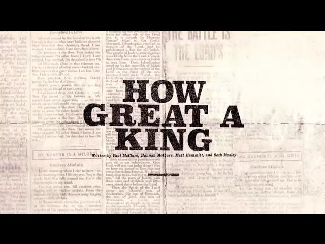How Great A King (Official Lyric Video) - Bethel Music | VICTORY