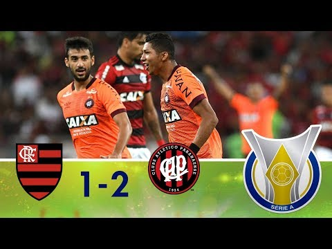 Melhores Momentos - Flamengo 1 x 2 Atlético-PR - Campeonato Brasileiro (01/12/2018)