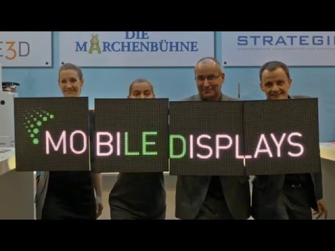 mobiLE Displays - World novelty from ARTMOS