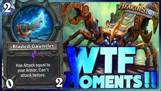 Hearthstone - WTF Moments - Kobolds and Catacombs Funny and lucky Rng Moments