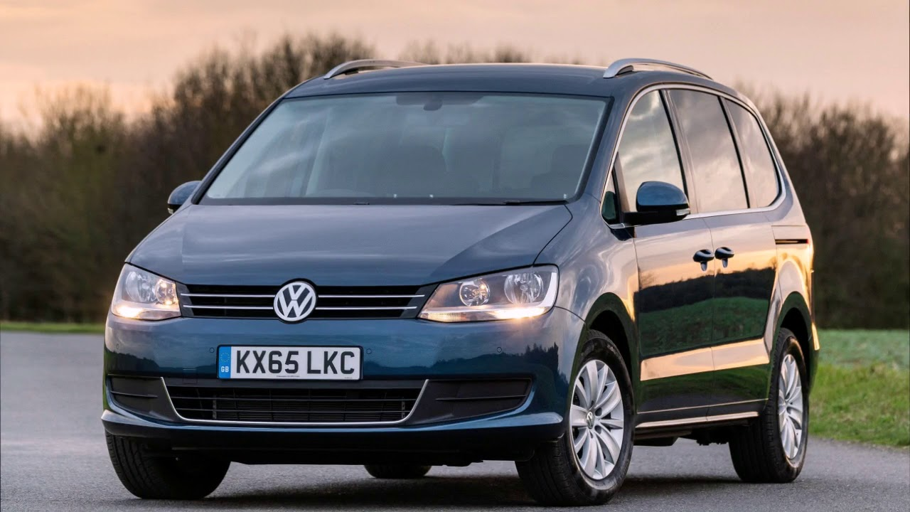 volkswagen sharan 2018 review exterior and interior youtube. Black Bedroom Furniture Sets. Home Design Ideas