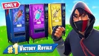 ONLY VENDING MACHINE CHALLENGE!