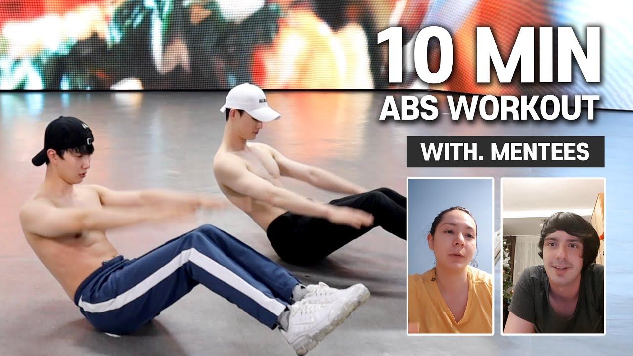 🇷🇴루마니아 친구들과 광란의 10분 복근 운동 | Insane 10m abs workout with Romanian friends