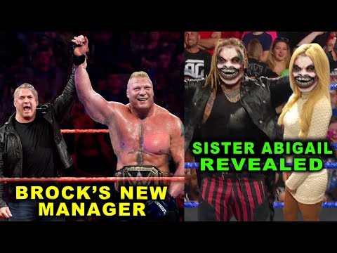 10 Huge WWE Surprises Rumored for 2020 - Bray Wyatt Reveals Sister Abigail