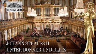 Johann Strauss II - Unter Donner und Blitz - Wiener Johann Strauss Orchester / Johannes Wildner