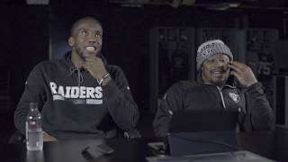 Marshawn Lynch and Josh Johnson React to 2018 Raiders Schedule