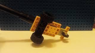 как сделать зенитку на колёсах из лего