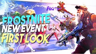 *NEW EVENT HYPE* Frostnite First Look Update 7.10 | Fortnite Save The World