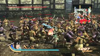 Dynasty Warriors 7 Xtreme Legends - PS3 - Zhao Yun SUPER Combos Gameplay Spear & Curved Sword