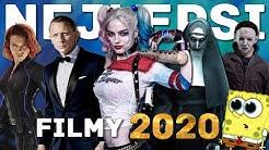 Všechny filmy, které v roce 2020 musíš vidět!