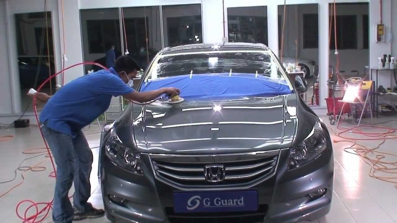 G Guard Car Polish Detailing Coating Malaysia Honda Accord 9936 Kuala Lumpur