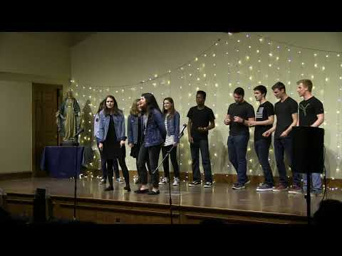 """Christendom College's 2019 A Cappella Competition 