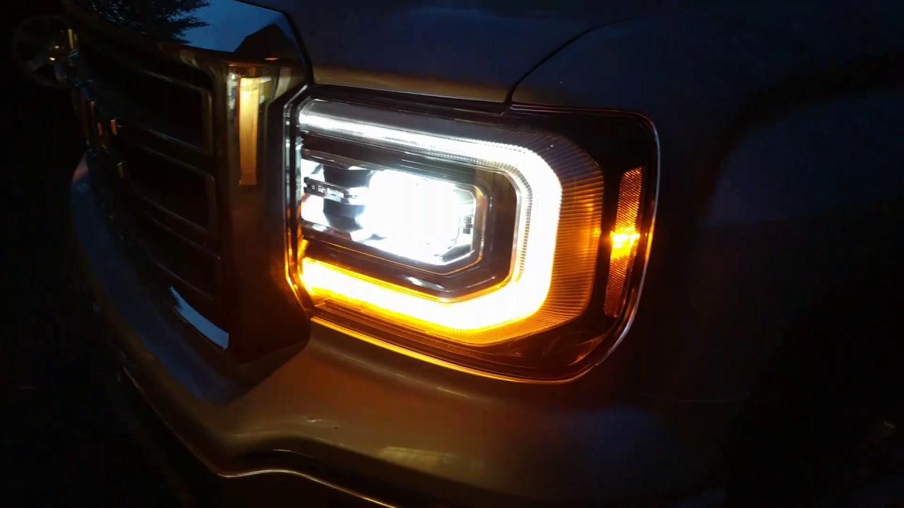 2016 Gmc Sierra Denali Led Headlights In A 2014 Gmc Sierra
