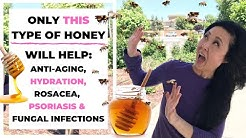 Eczema Honey- Anti Aging Honey Mask for Face to Treat Eczema, Rosacea,