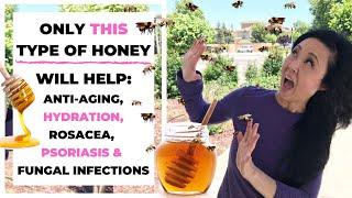 Eczema Honey- Anti Aging Honey Mask for Face to Treat Eczema, Rosacea,