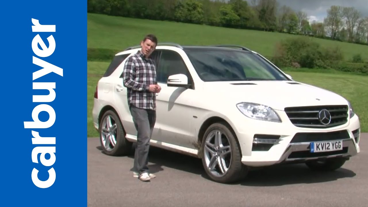 mercedes m-class suv review - carbuyer - youtube