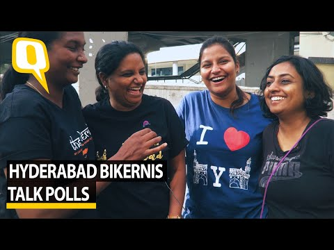 Five women on bikes talk Hyderabad, chai, Telangana elections | The Quint