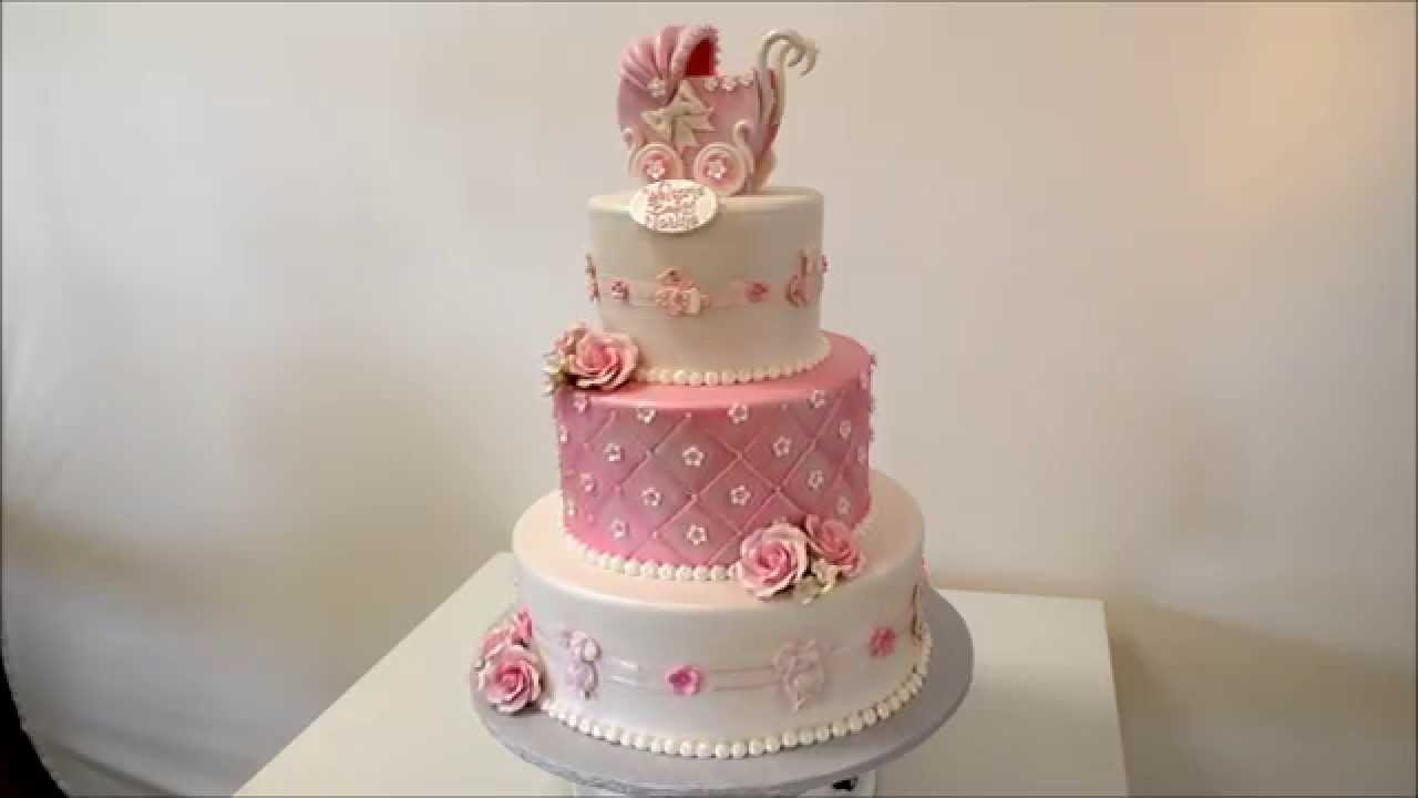 How To Make A Three Tier Cake With Icing