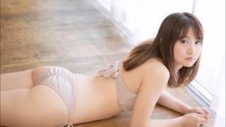 永尾まりや 爽やかランジェリー 白やピンクにセクシーな黒色 ピンクや真...
